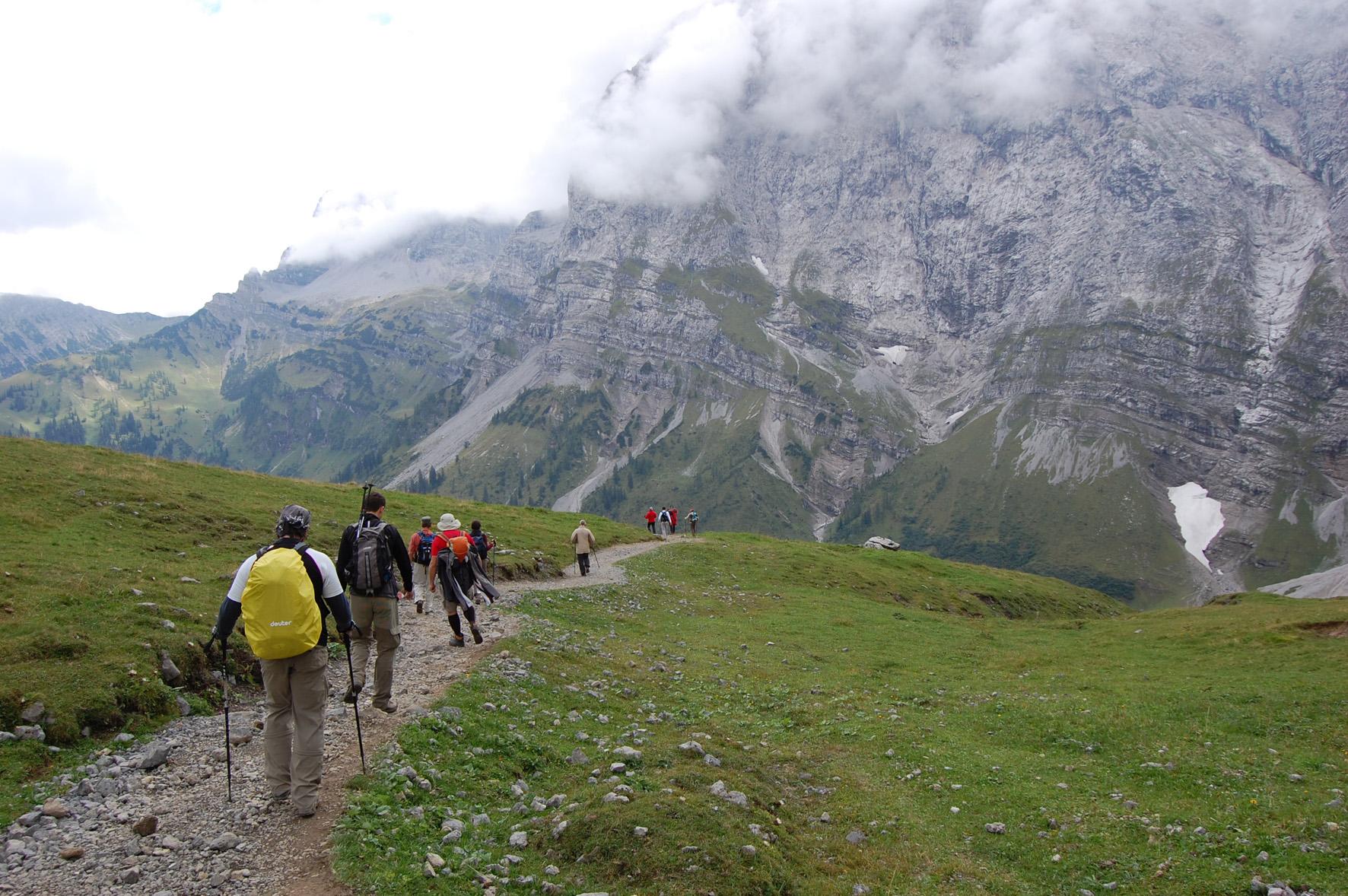Panorama Karwendelmarsch